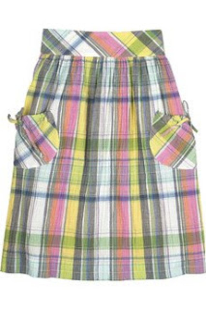 plaid%2Bskirt