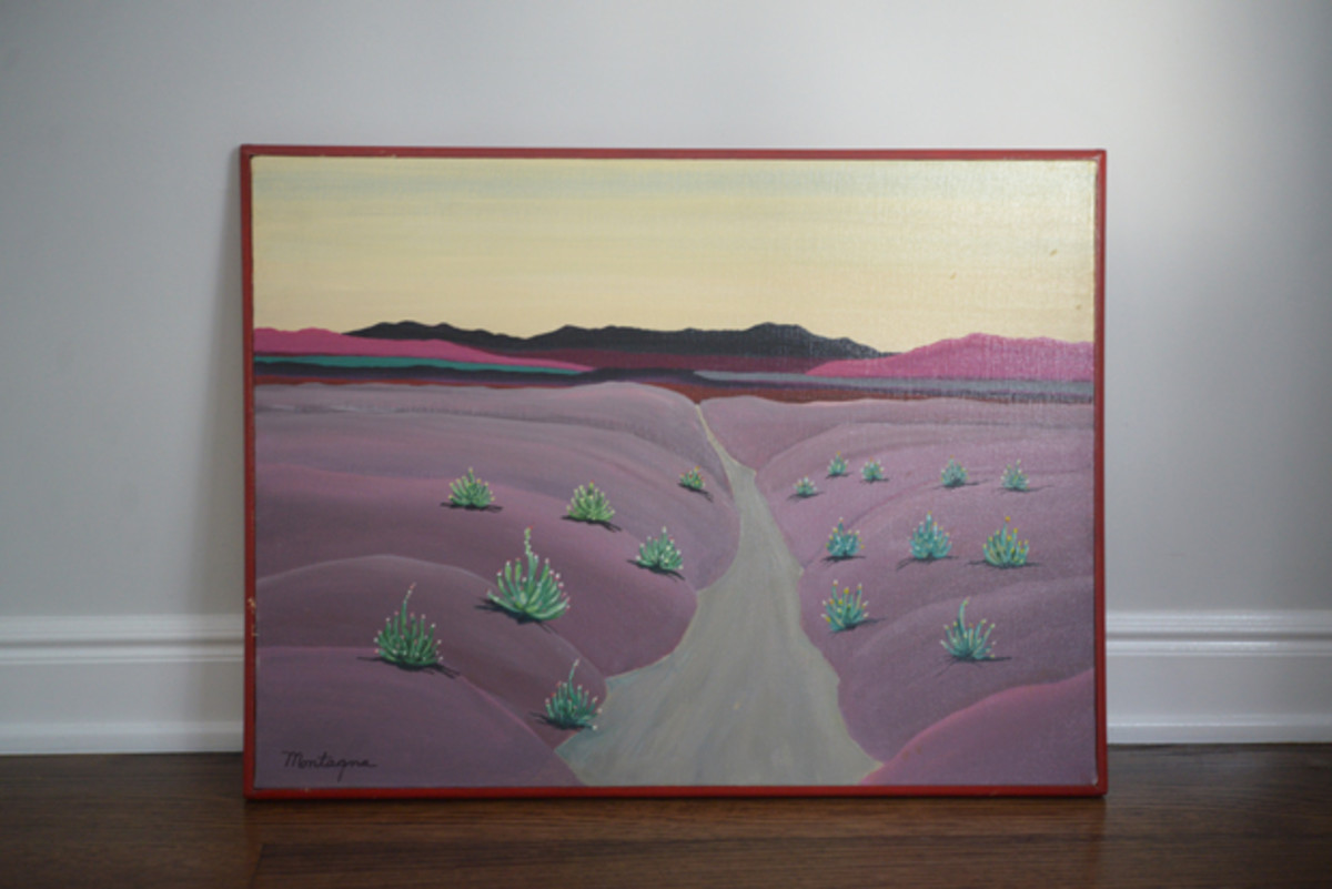 {My favorite flea market find (for $20!) from last weekend}