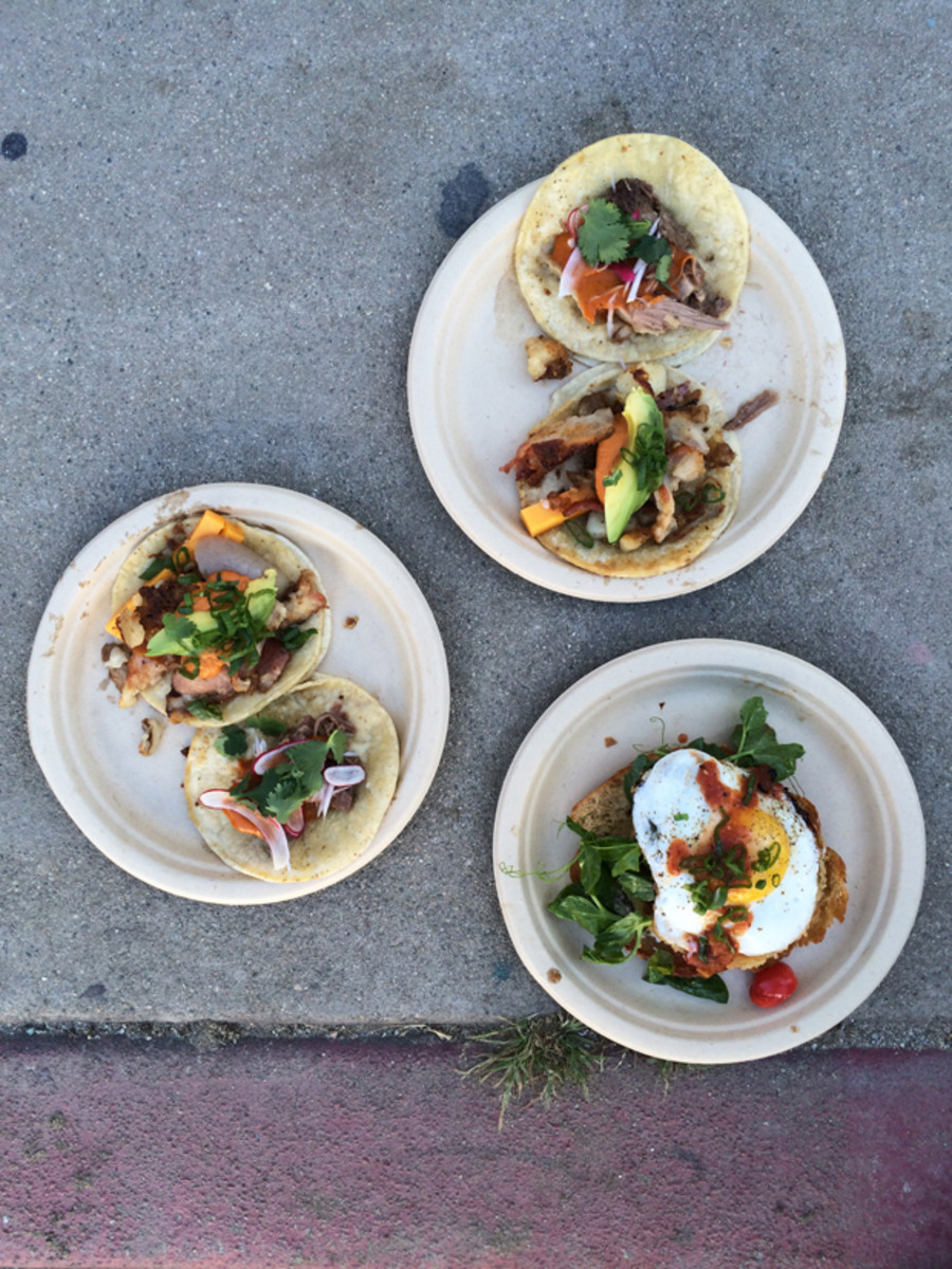 {The best curb-side breakfast tacos}
