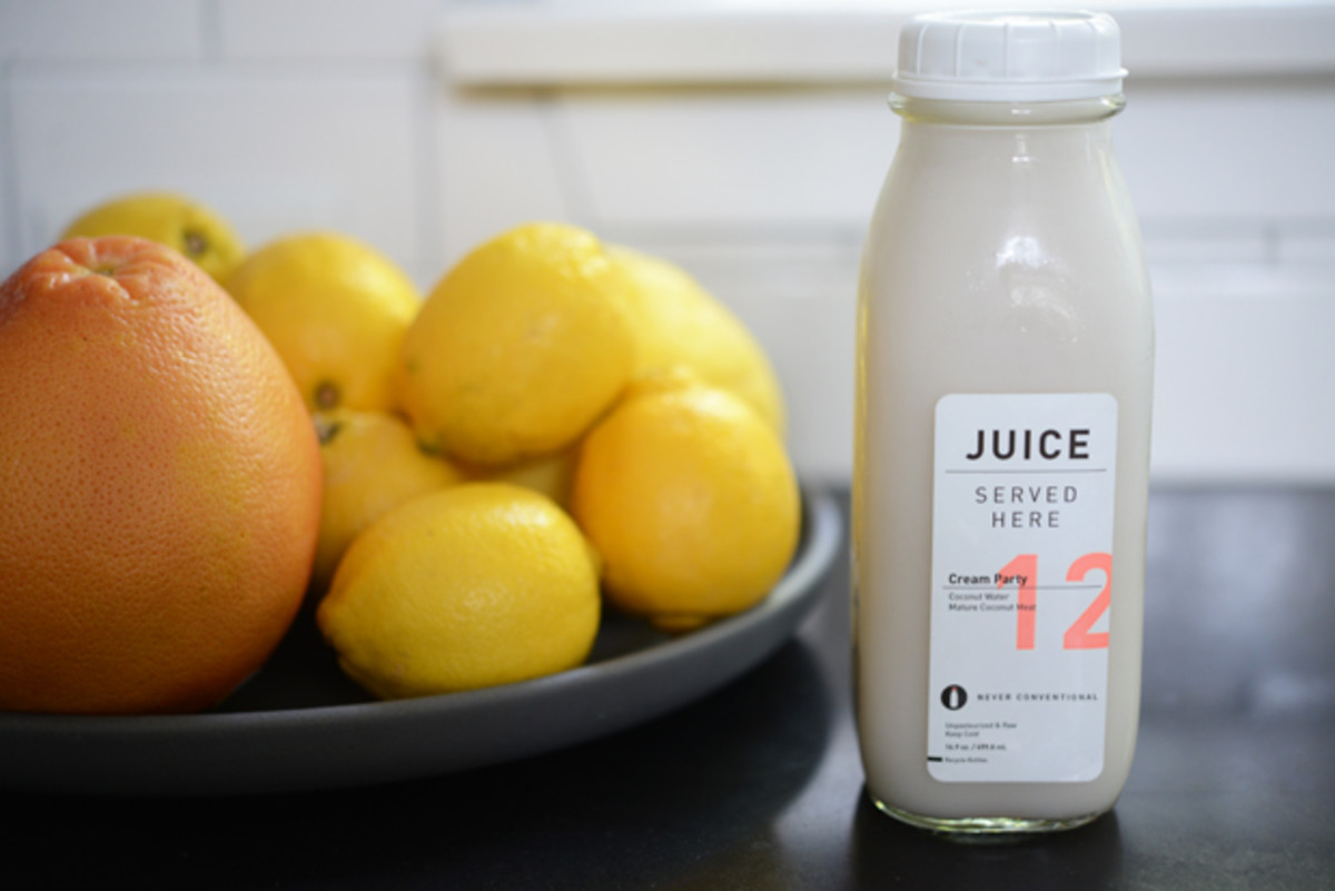 {The best coconut juice in town for special (healthy) occasions}