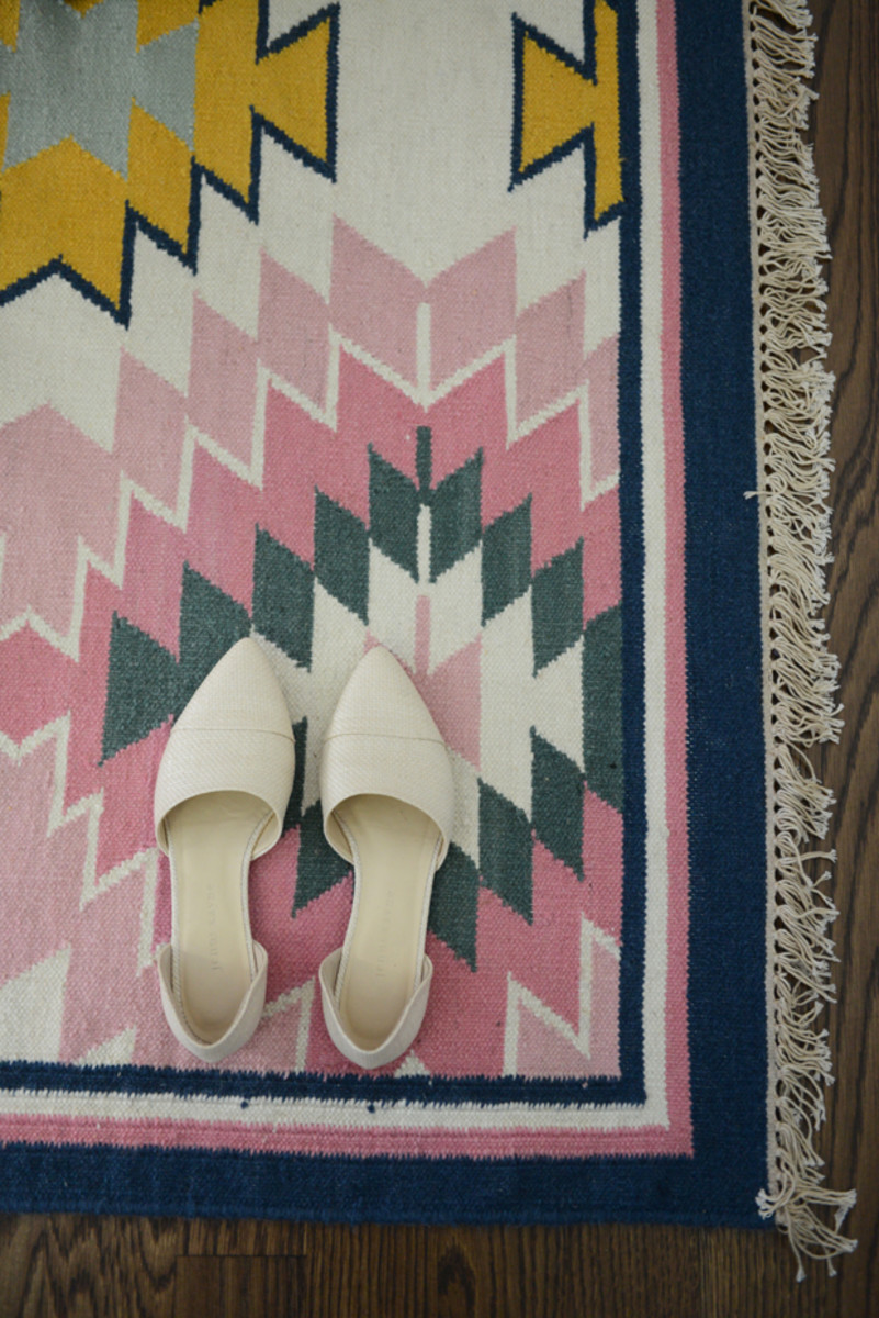 {A new rug for our office that brightens up the entire room c/o}