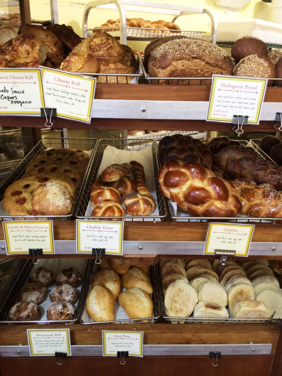 {Bread heaven at Arizmendi, my favorite Northern California bakery}