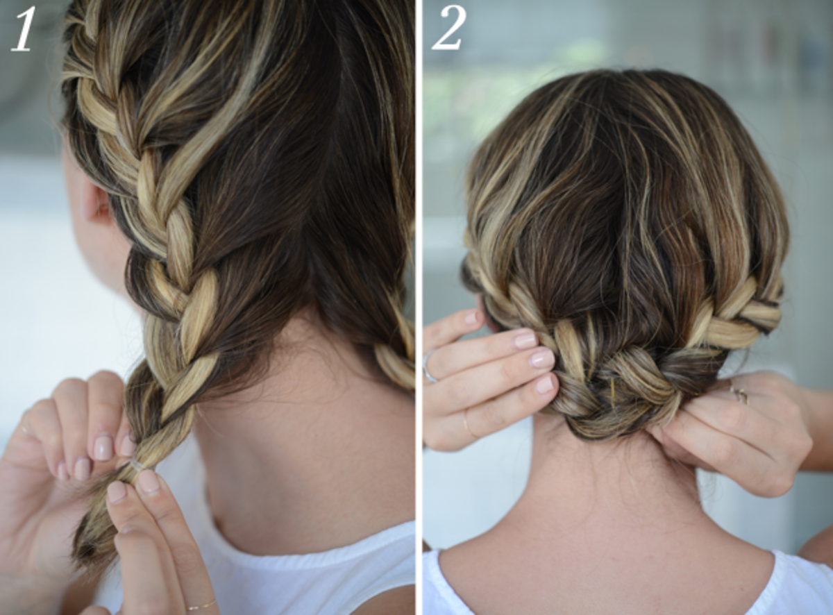 3 Hairstyle Hacks For a Short Bob - Cupcakes & Cashmere