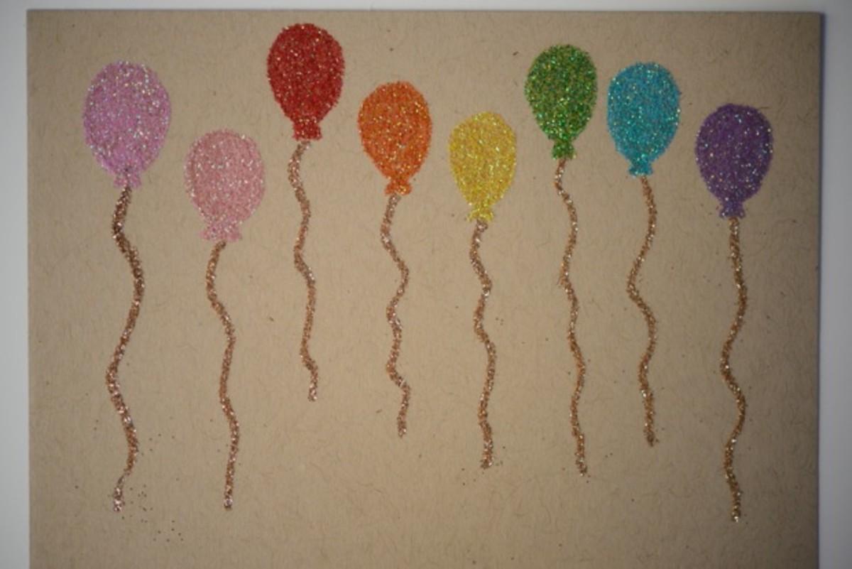 glittery-balloon