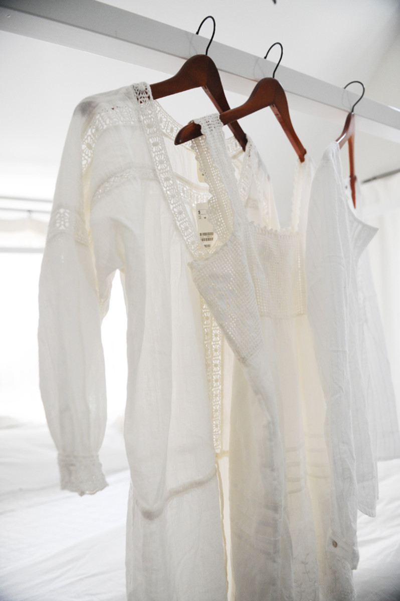 {New summer whites from H&M}