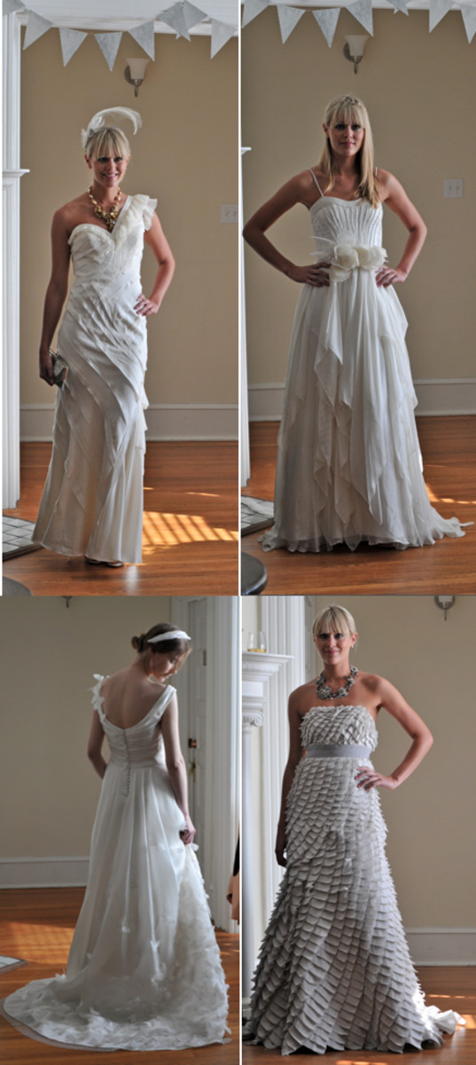 {Some of my favorite wedding gowns}