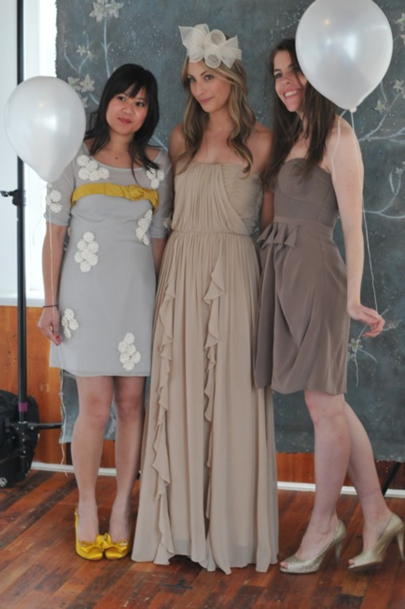 {Playing dress-up with Joy and Joanna}