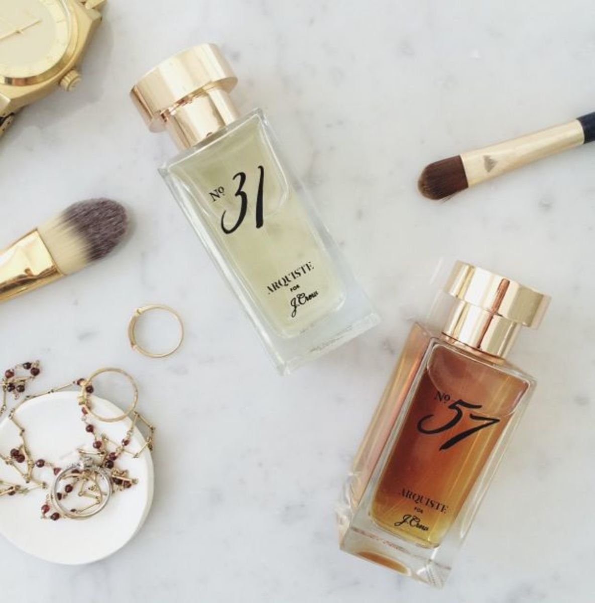 {Love both of J.Crew's new scents c/o}