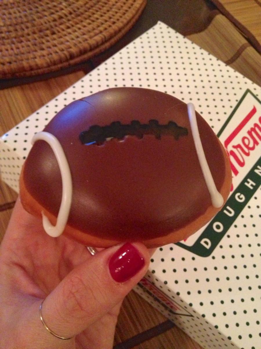 football-donut
