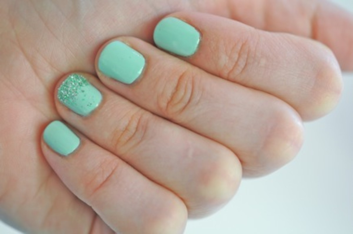 Mermaid Nails - Cupcakes & Cashmere