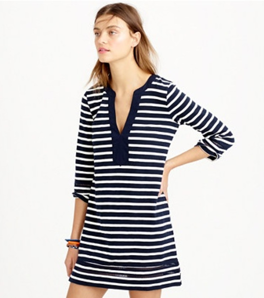 J.Crew Striped Tunic