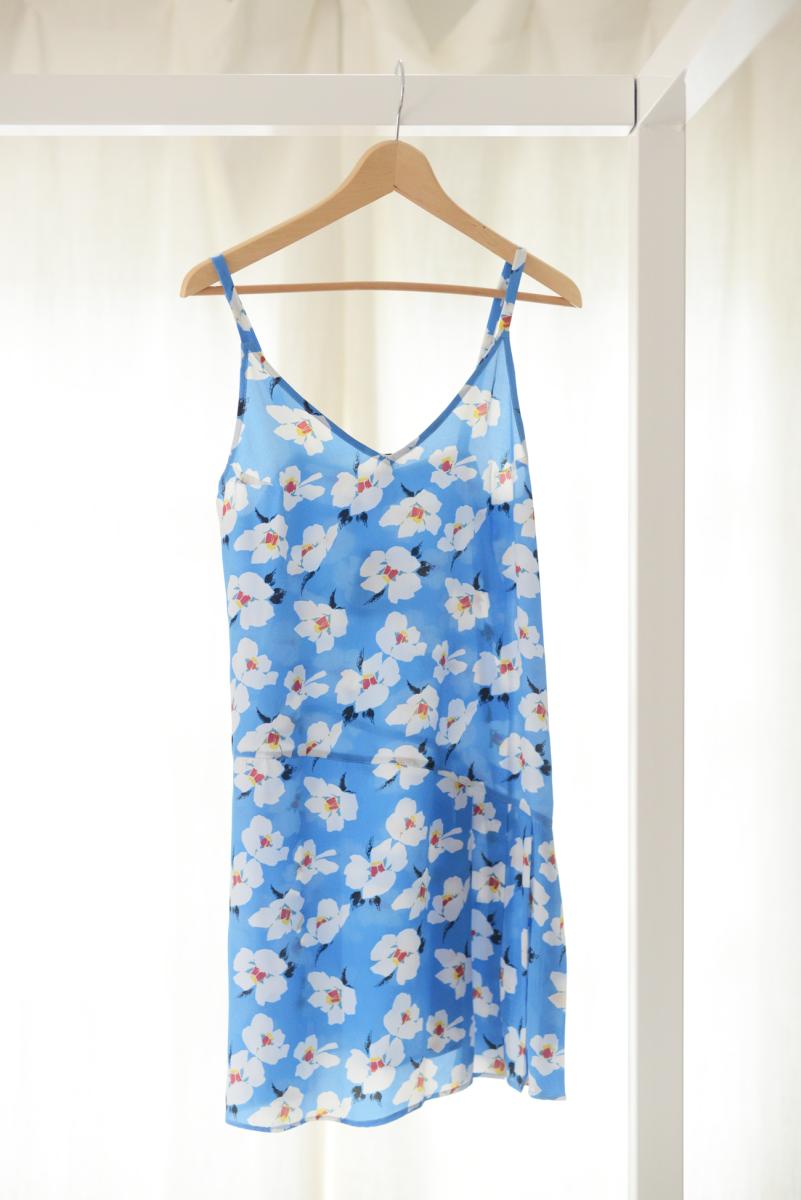 {Breezy floral dress}