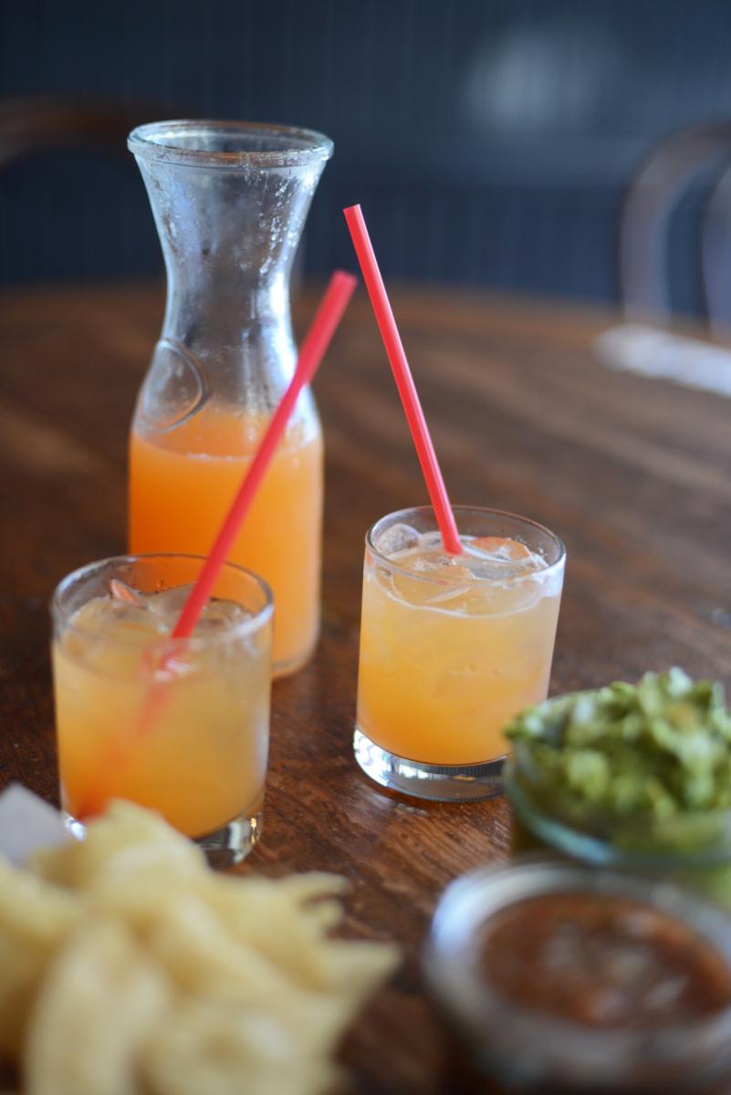 {The most refreshing cantaloupe agua fresca from Escuela Taqueria}