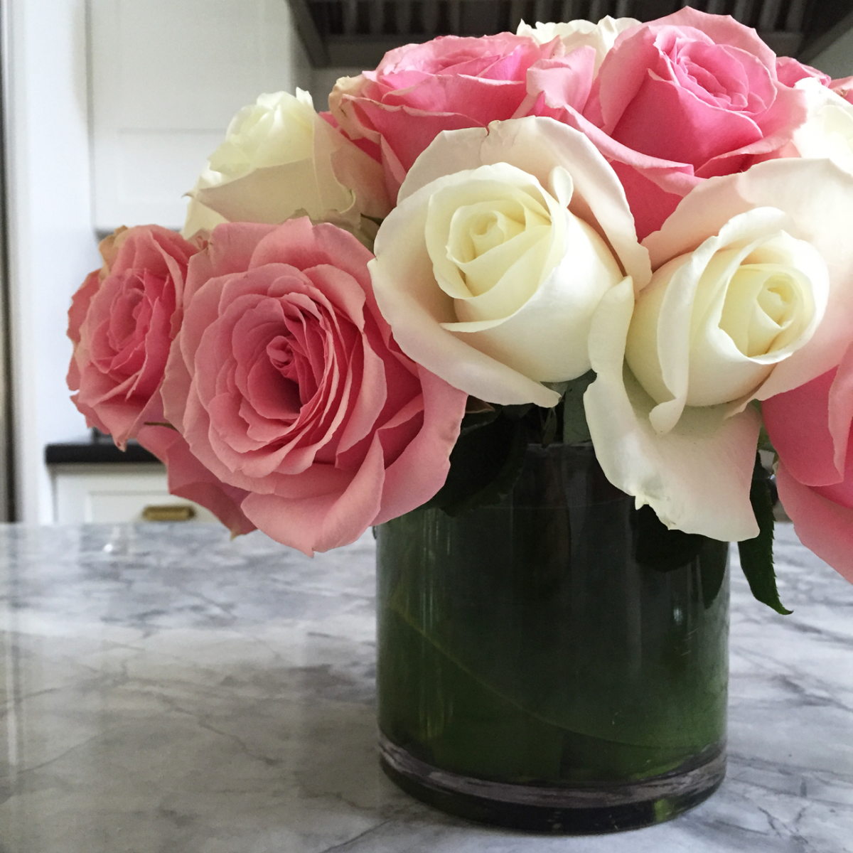{Roses from a friend}