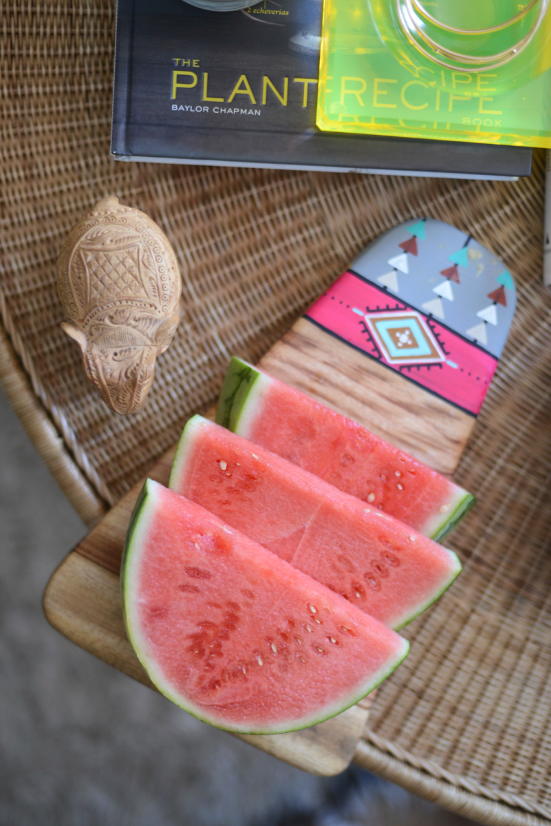 {Summer snacking}