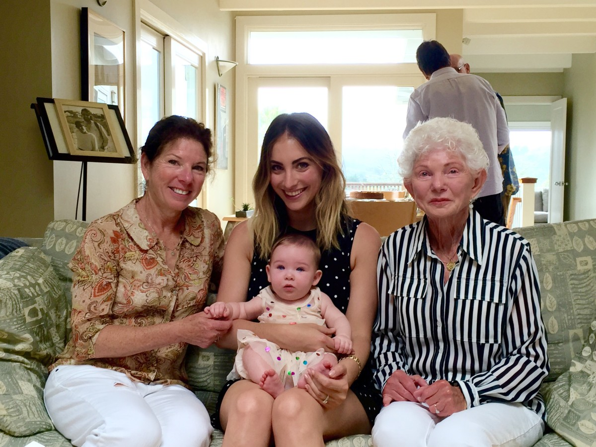 {Four generations!}