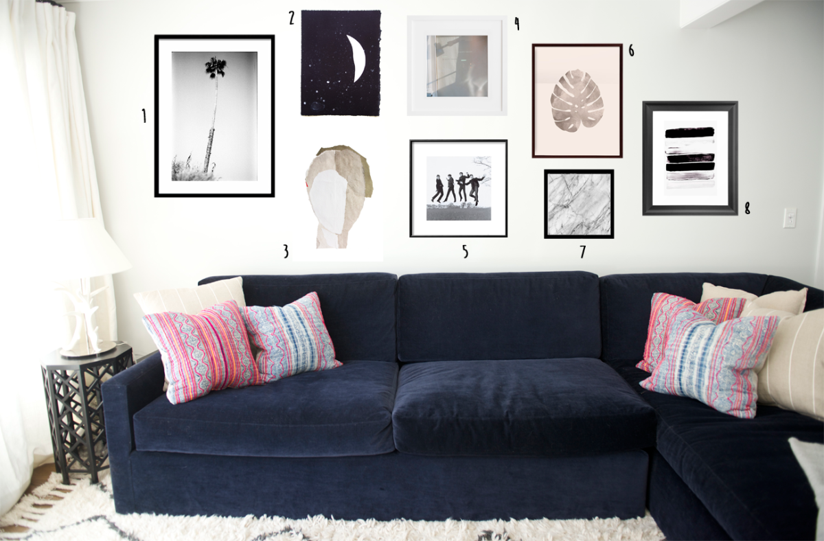 gallery wall images: 1, 2, 3, 4, 5, 6, 7, 8
