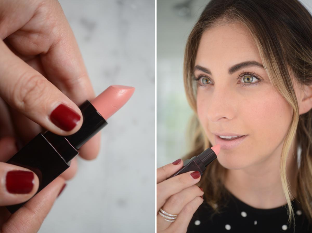Laura Mercier Lipstick in '60s Pink'- $27