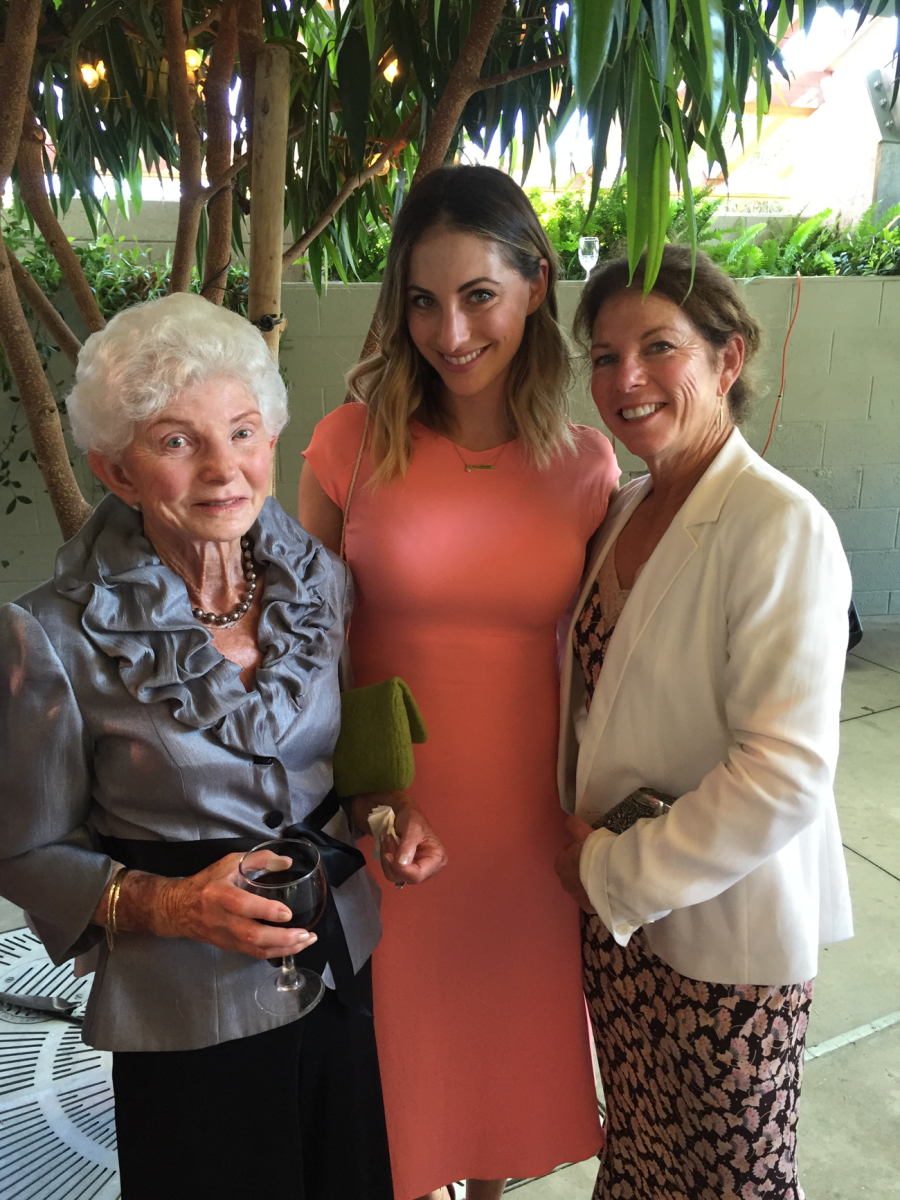{Malibu wedding with my mom and grandma last weekend}