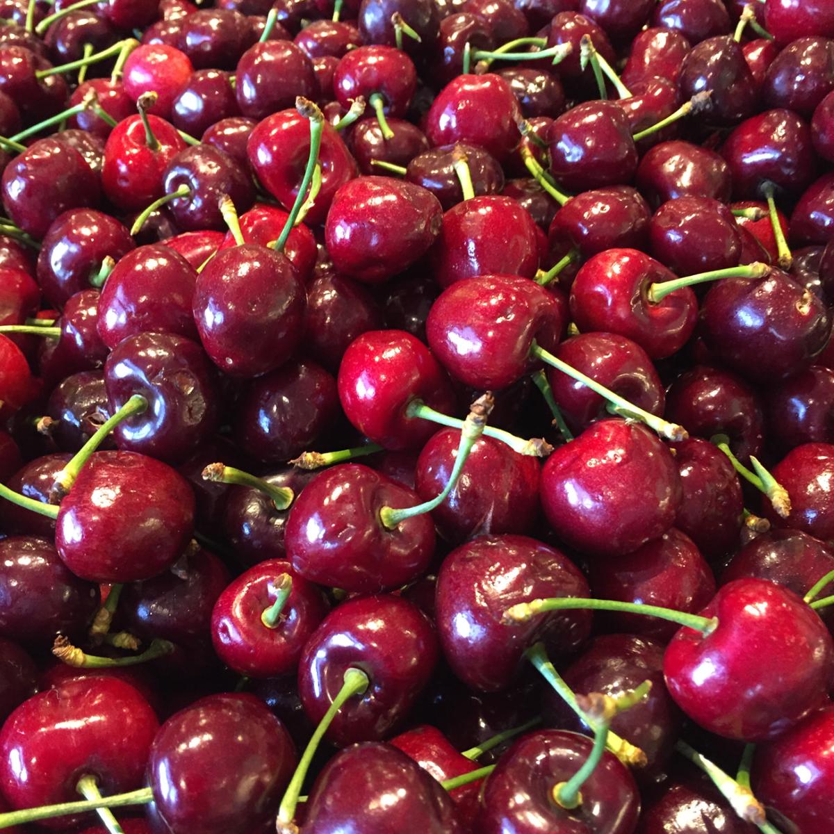 {End of summer cherries}