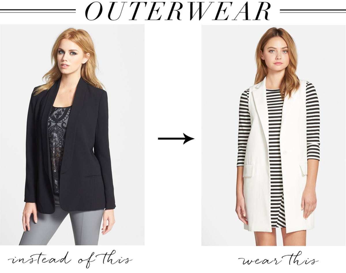 {Outerwear left, right}