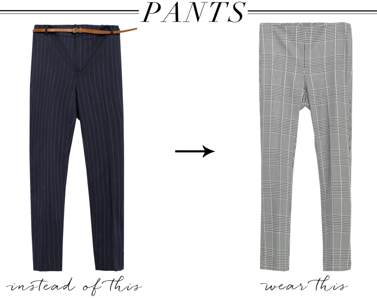 pants left, right