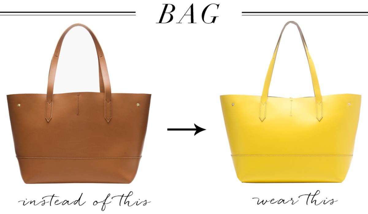 Bag left, right