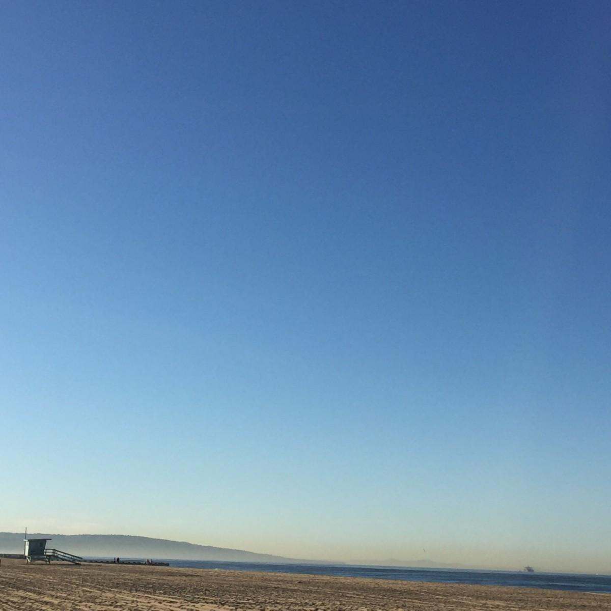 {Deserted beach}