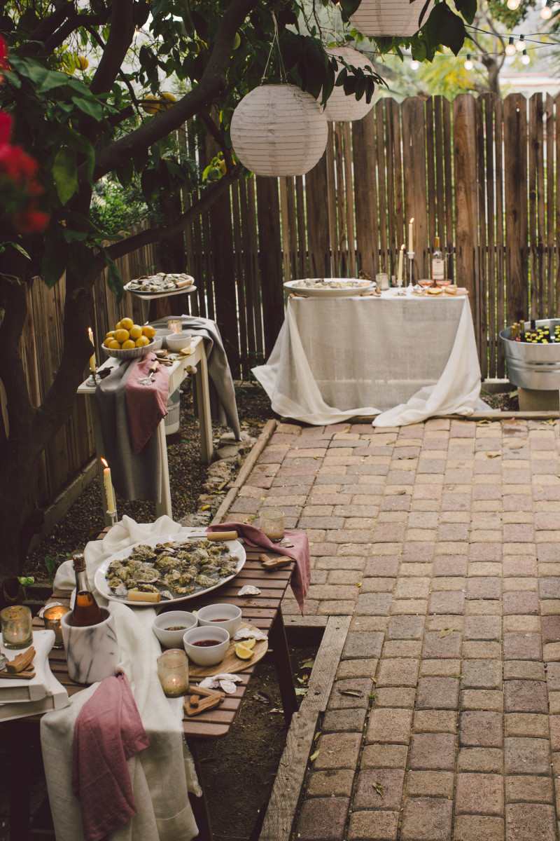 Never has my patio ever looked better. All photos by Evangeline Lane