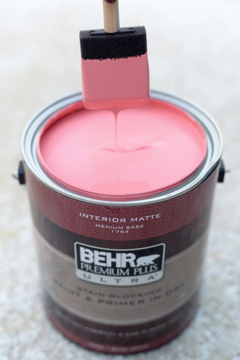 paint brush in can