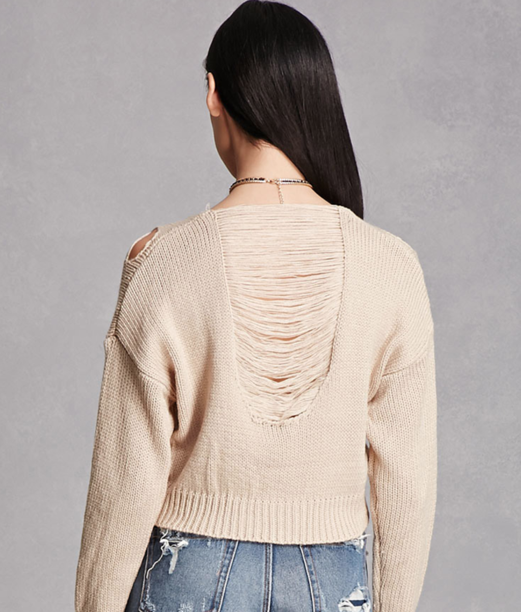 Shop the Item: Ladder Dolman Sweater ($35) - I am obsessed with the details on this sweater