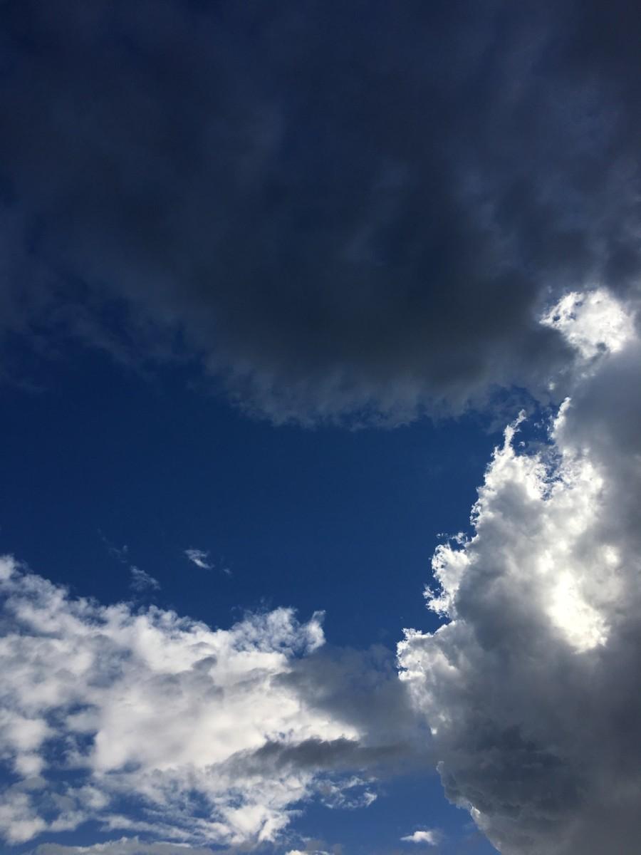 {Stormy L.A. skies}