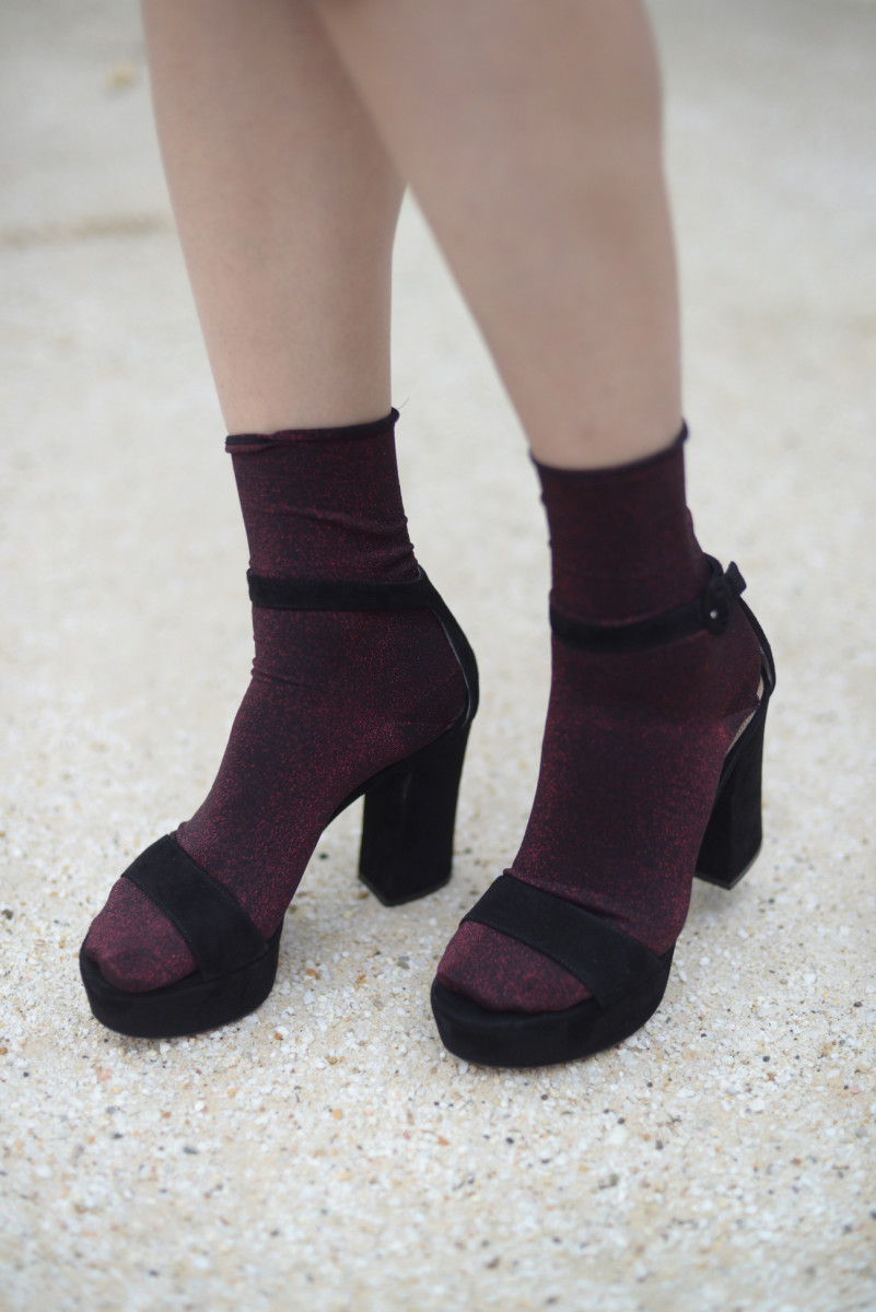Wolford Shimmer Socks