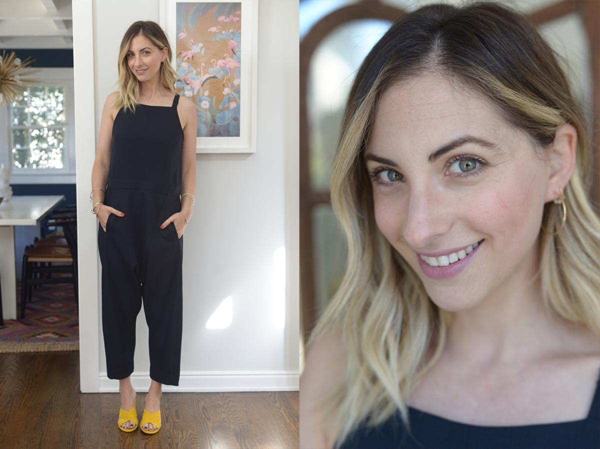 Thursday: Rachel Comey Jumpsuit, Shoe Republic LA Slides (similar here)