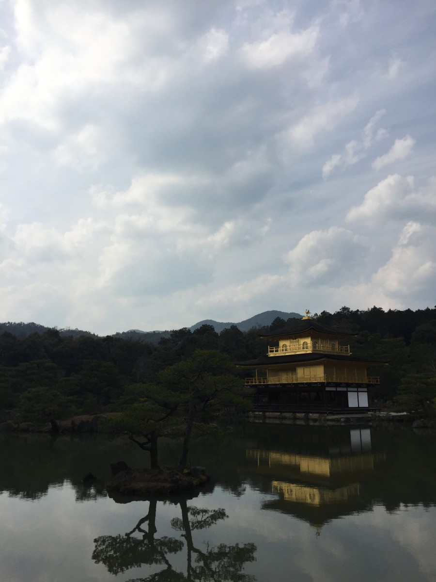 The gold-foiled Kinkaku-Ji