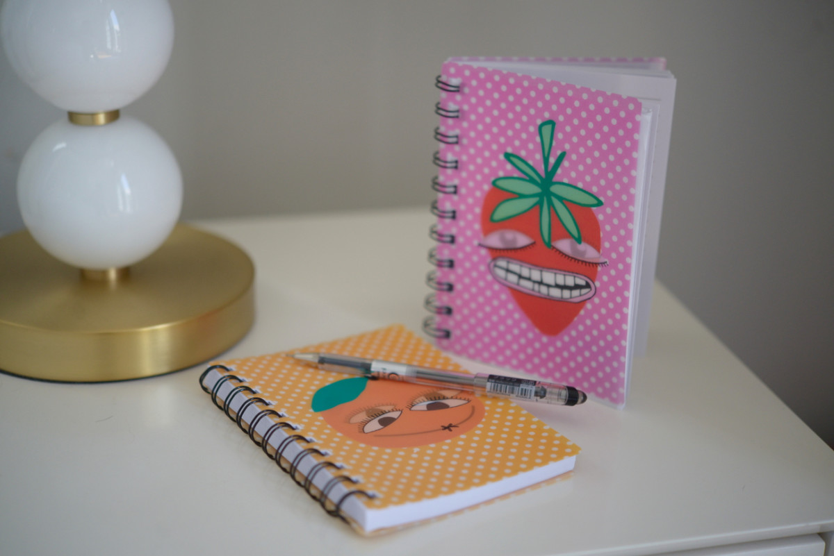 {Borderline creepy, but fun journals from the Tokyu Hands}