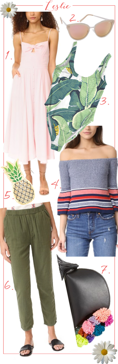 leslie spring shopbop sale picks