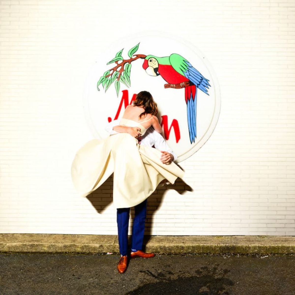 Sylvan Esso's new album cover, out this Friday. Image via