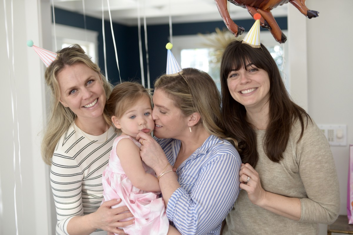 "The love these three ""aunties"" have for Sloan (and she for them) makes my heart hurt."