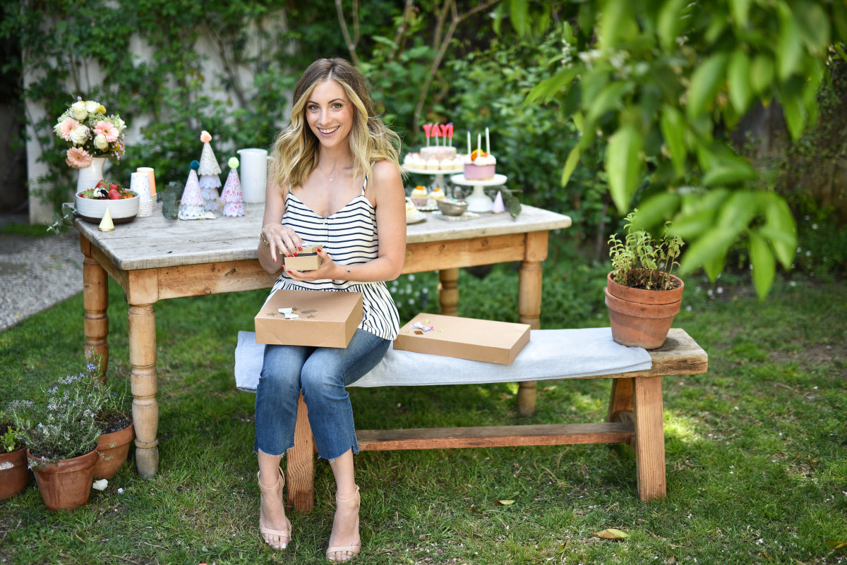 Cupcakes and Cashmere Striped Tank, MOTHER Denim