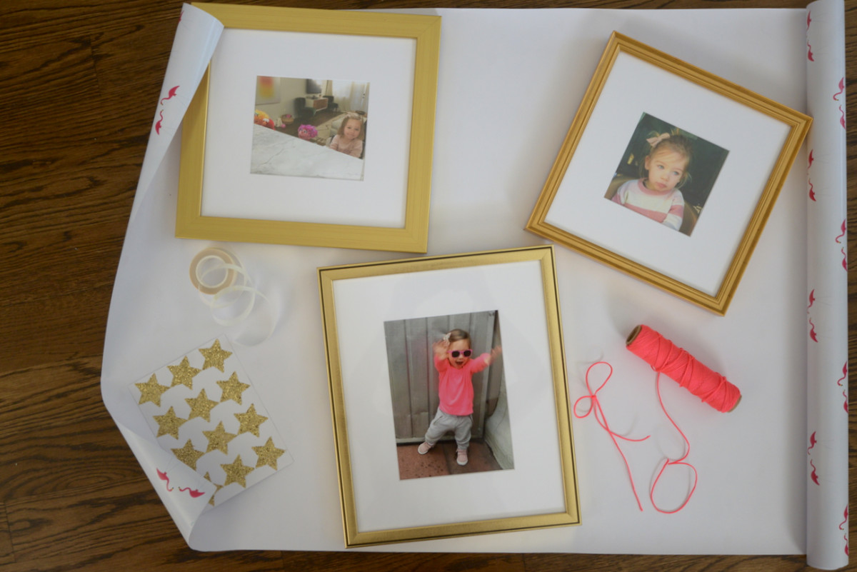 {Special delivery to the women in my life for Mother's Day: photos of Sloan custom-framed by Framebridge}