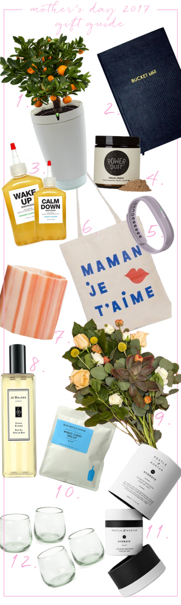 Mother's Day Gift Guide 2017 updated
