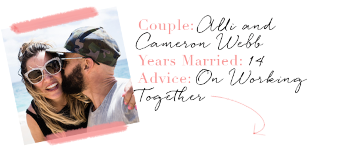 Alli and Cameron Marriage Advice