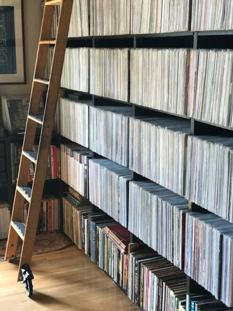 {A seriously impressive record collection}