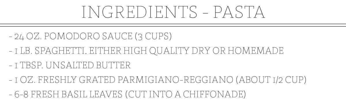 Spaghetti al Pomodoro Ingredient Slides_Pasta