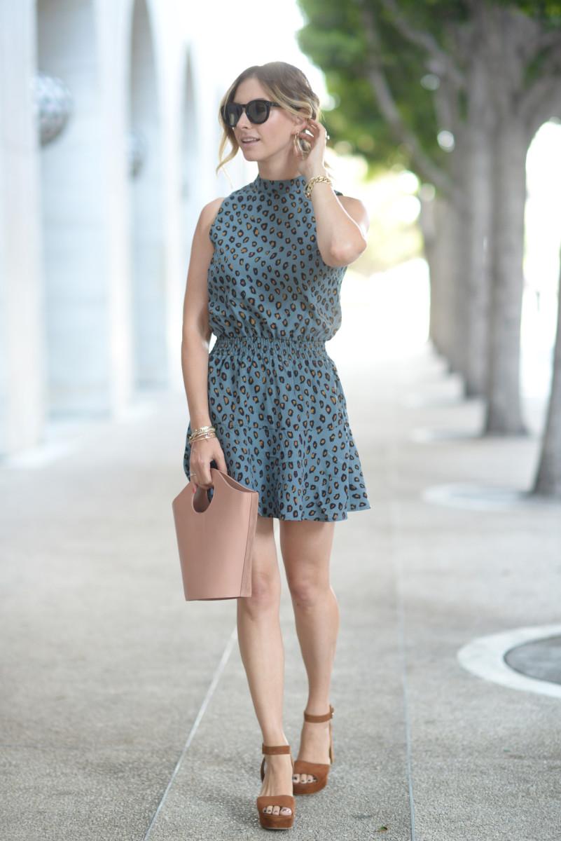 Celine Sunglasses (similar here), Cupcakes and Cashmere Dress, Miu Miu Platforms (more colors here, affordable option here), Elizabeth and James Bag c/o