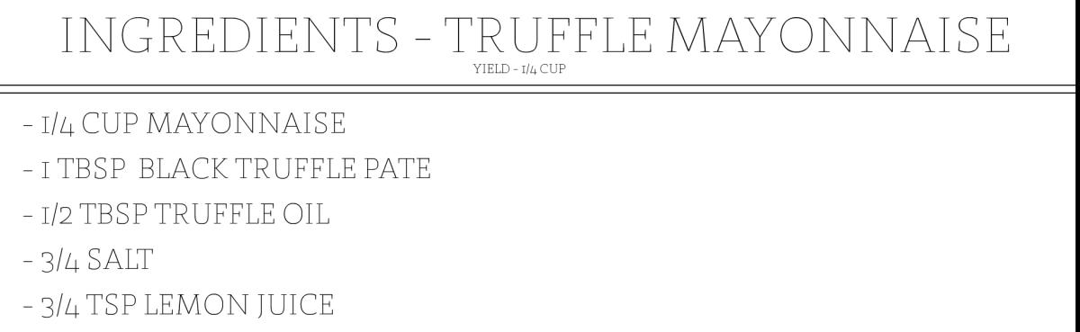 Nomad Ingredient Slides_TRUFFLE MAYO