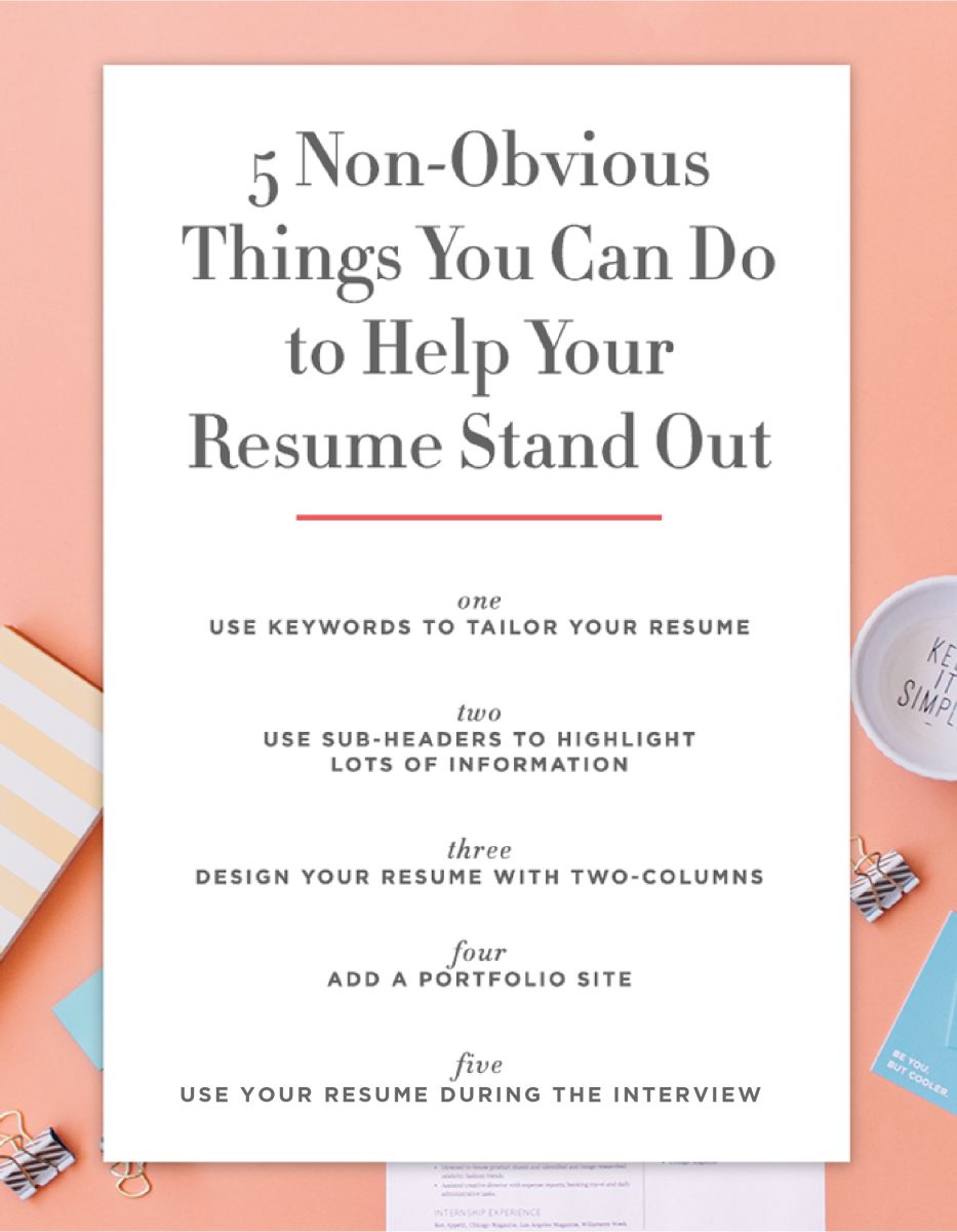 I love resumes. I know that makes me an outlier in most scenarios, but I  love them because they are the one piece of the job search puzzle that can  uniquely ...