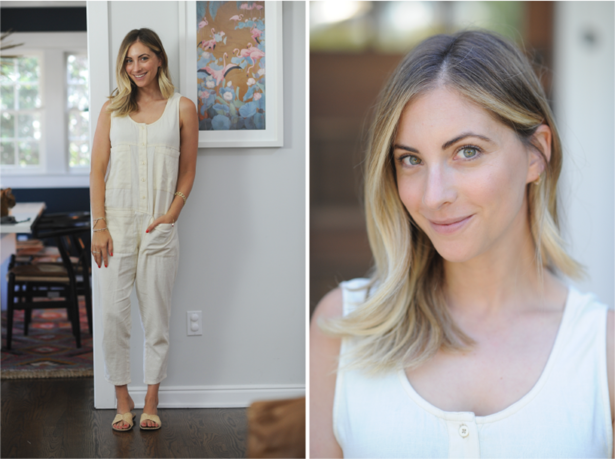 Friday: Billabong Jumpsuit (similar here), Carrie Forbes Sandals (available in black here)