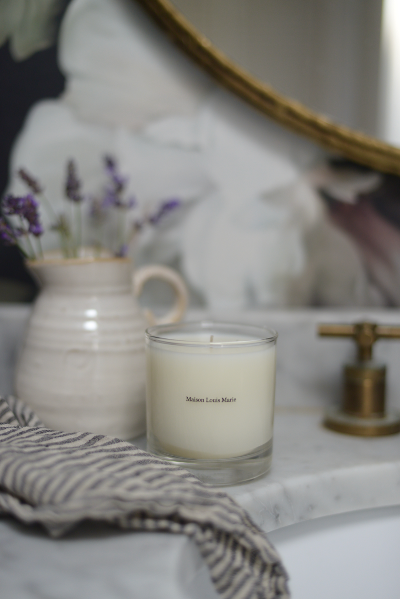{New favorite scent in our powder room}